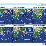 30日頃まで猛烈な暑さ 熱中症に警戒 9月に入る頃は秋雨へ 厳しい残暑まだある?
