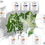 30日の関東甲信 猛烈な暑さ 午後は所々で雨雲が発達 激しい雨も