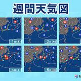 9月のスタートとともに秋雨前線が主役 31日は貴重な夏の日差しも