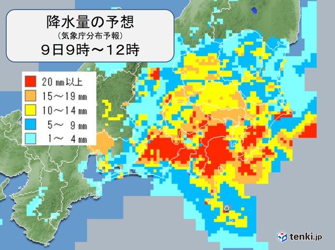 関東 夕方まで広く雨 激しい雨や落雷に注意 気温ダウン 最高気温は10月並み