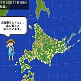 北海道 暑さは北の大地にも