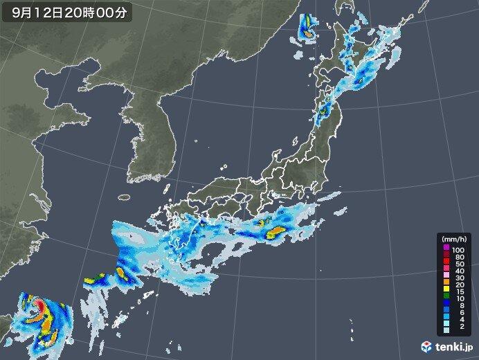九州や四国も強い雨