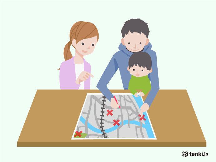 台風の大雨 土砂災害から身を守るための情報