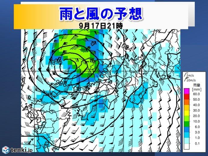 18日にかけて断続的に雨が降り、太平洋側を中心に局地的に大雨のおそれ