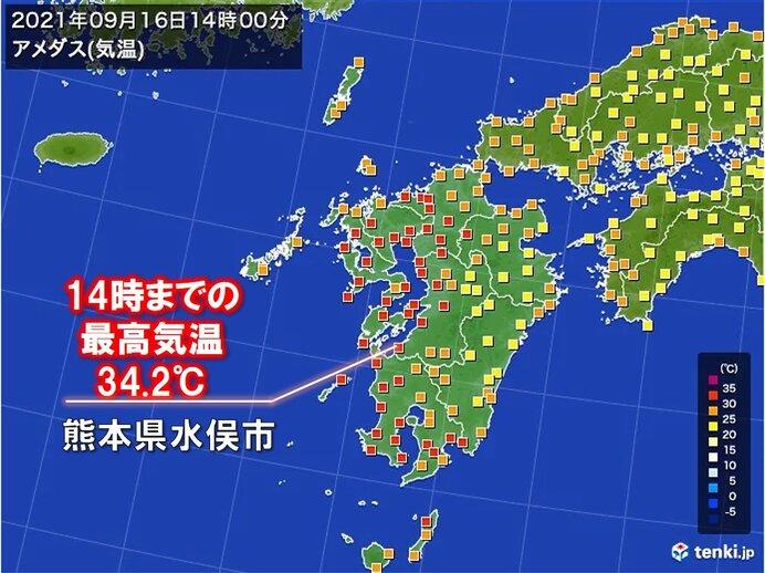 「猛暑日に迫る暑さ」や「半日で200ミリ超の雨」も 台風の接近・上陸で広く大雨に