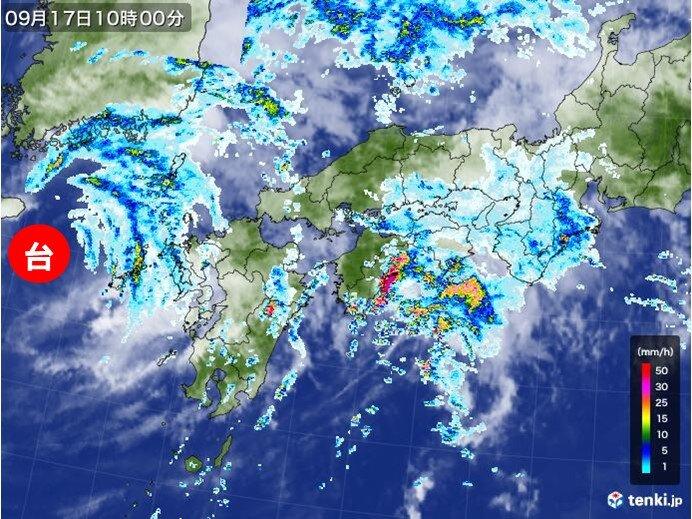 台風14号の特徴と注意点は