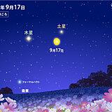月が土星・木星に接近 今夜17日も観測のチャンス 見られる所は?