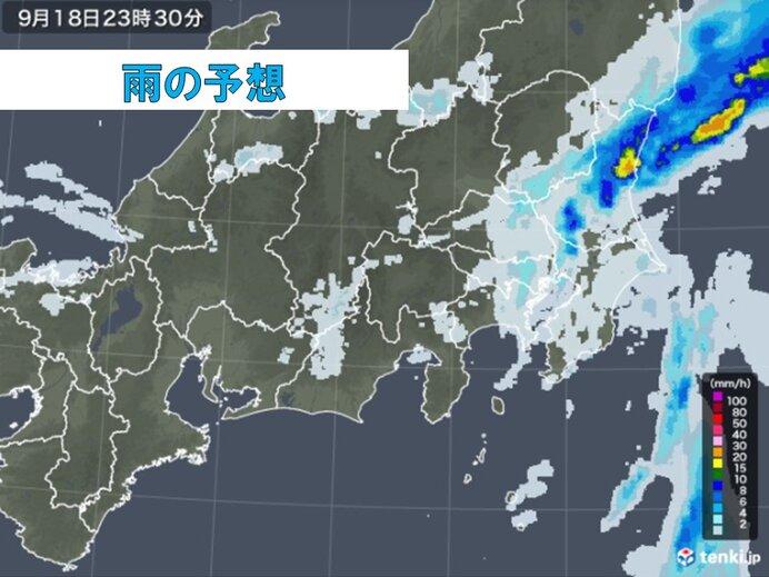 局地的に非常に激しい雨