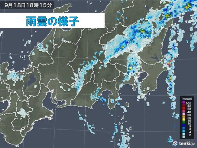 関東 あす明け方まで激しい雨 東京都心は2日間で半月分の雨量観測