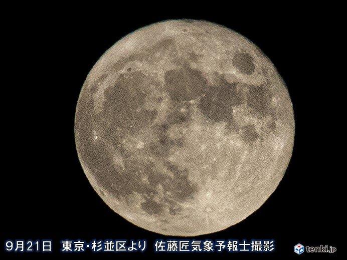 8年ぶり 中秋の名月&満月