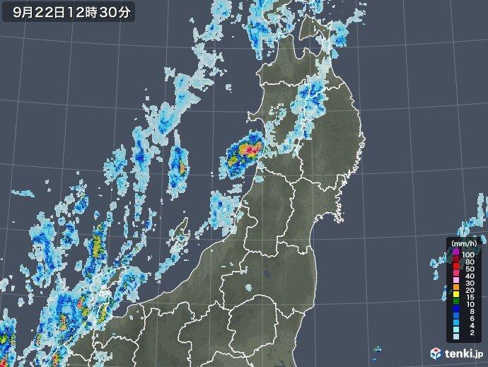 22日(水) 夜遅くにかけて激しい雨や雷雨の恐れ