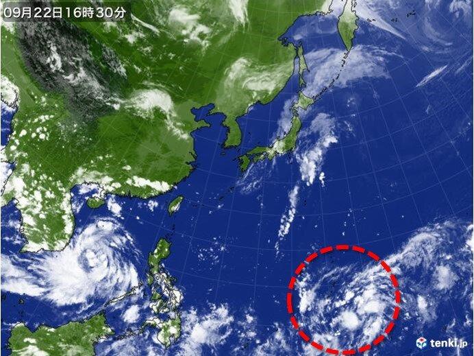 南の海上に台風のたまご発生か その後本州接近の可能性も
