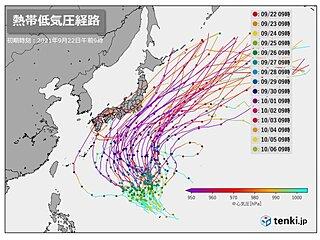 台風のたまご発生か 10月入ってすぐに本州接近のおそれも 今後の動向に注意