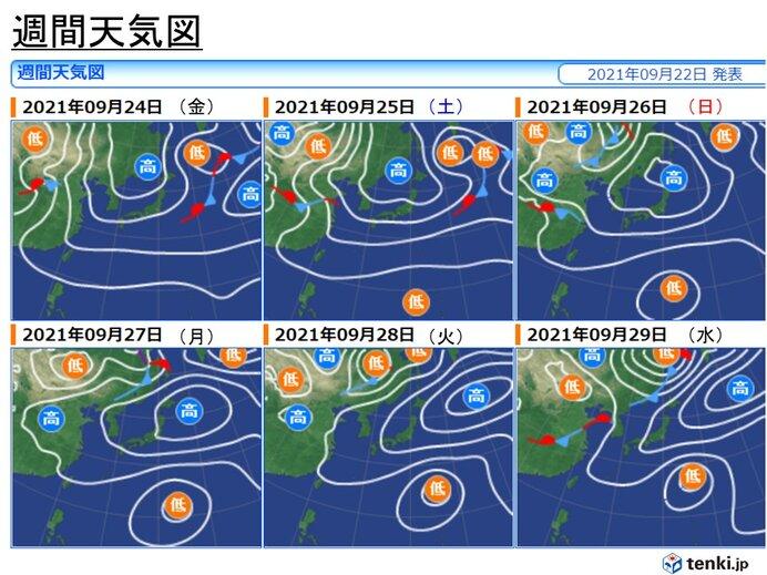 熱帯低気圧の動向に注意