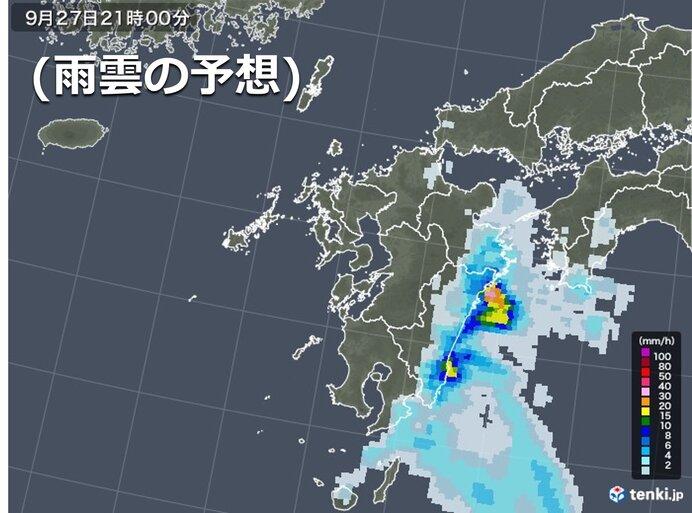 宮崎県や大分県 局地的に激しい雨も