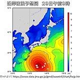 台風16号北上 沖縄の大東島地方は今夜遅くから大しけ 小笠原諸島はあす夜から