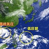 南の海上 積乱雲が発達中 まだ台風シーズン 10月の台風は勢力が強い 動向に注意