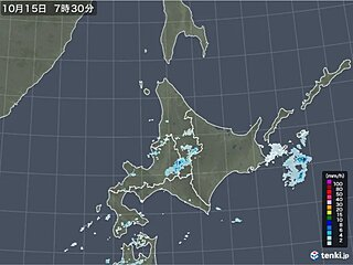 曇りや雨の北海道 気温はきのうの朝より10℃ほど高い所も 午後は冷えてくる
