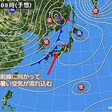 関西 あす土曜日は蒸し暑く熱中症に警戒が必要 日曜日以降は季節が一気に進む