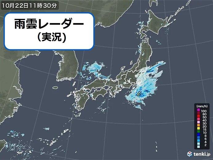 22日金曜帰宅時間 関東など傘が必要 雨はいつまで? 日本海側は23日土曜も雷雨