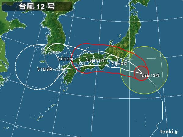 強い台風 東海に上陸の可能性高い
