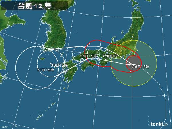 関東も一部が暴風域に 交通機関に影響も