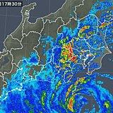 東京など首都圏や静岡 竜巻注意情報