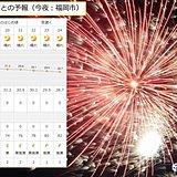 福岡 今夜は西日本大濠花火大会