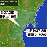 「土用のうし」 記録的な猛暑 東北
