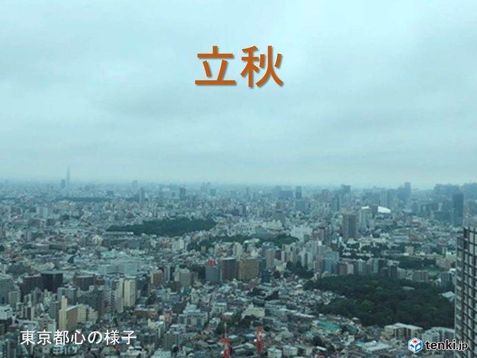 東京都心 昼間は札幌よりヒンヤリ