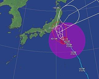 8日 台風13号 強い勢力で関東に接近