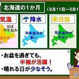 北海道の1か月 お盆を過ぎても半袖活躍!