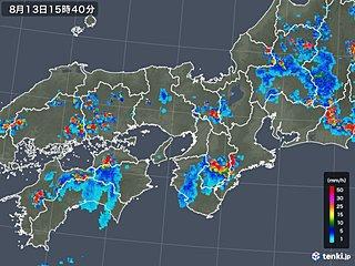 西日本・東海エリアの天気と注意点