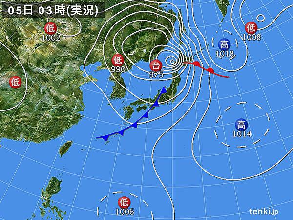 5日 強風続く 天気は回復 厳しい暑さ