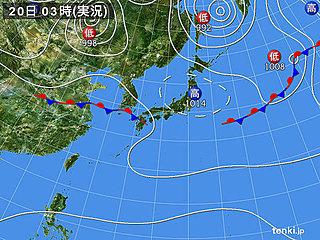 20日彼岸入り 西・東日本は雨でヒンヤリ