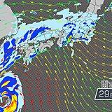 台風24号 土日に直撃 交通障害の恐れ