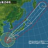 台風24号 沖縄に接近 今後の見通し