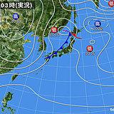 11日 季節進める雨 11月並みの気温も
