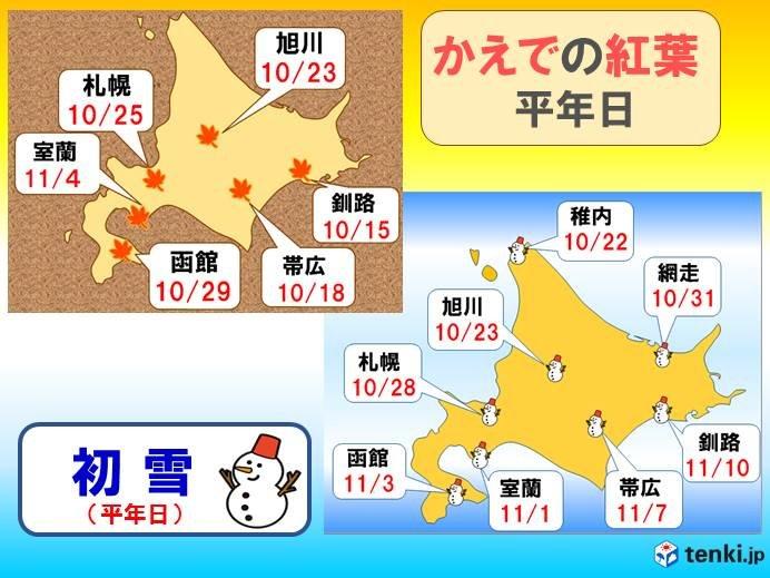10月27日~11月9日 雪虫飛んだら、初雪になるかな!?