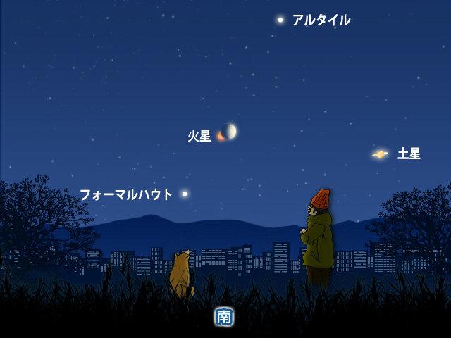 今夜 月と火星が接近 天気は?