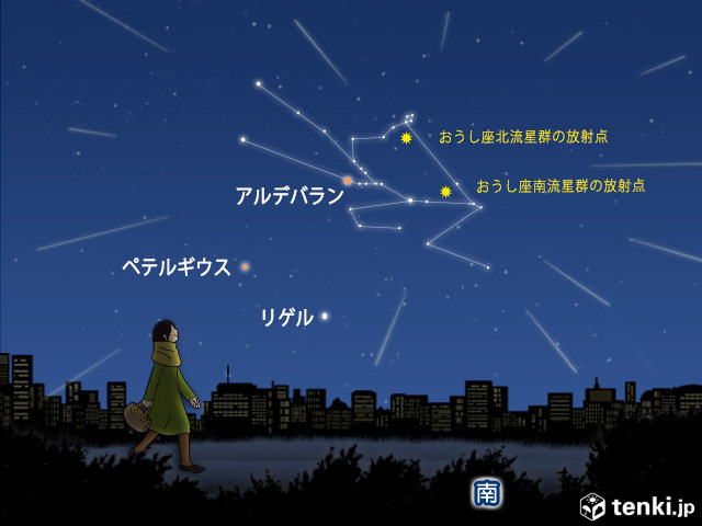おうし座北流星群が極大 火球も見えるかな