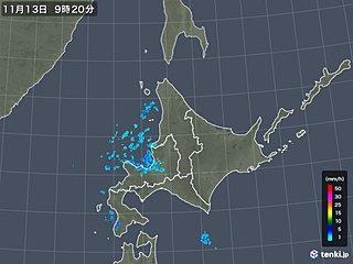 北海道 いよいよ初雪?