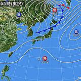 28日 西から次第に雨 気温差注意