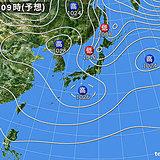 北海道 今夜から週末の天気