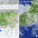 3日 関東の天気 曇り空 寒さ少し和らぐ