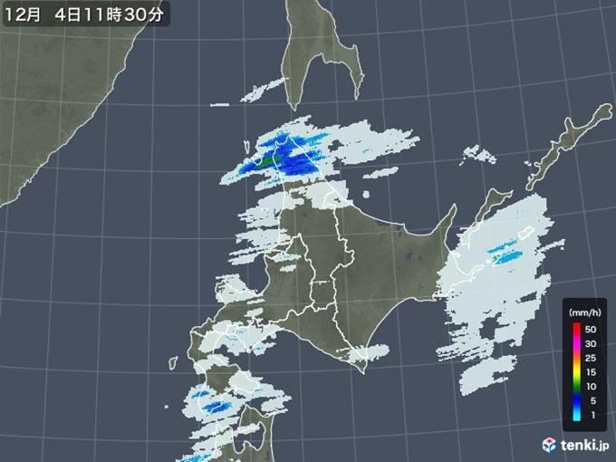北海道 雨風強く冬将軍の気配も