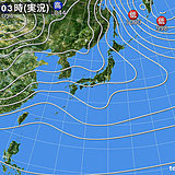 11日 全国的に天気崩れる 関東でも雪か