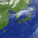 1日 晴れる所多い 東京は花散らしの風