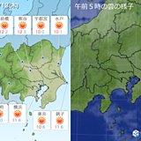 13日 関東 年末年始頃の気温 風が強め