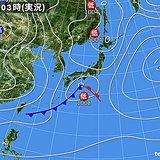 17日 次第に冬型へ 日本海側は雨や雪